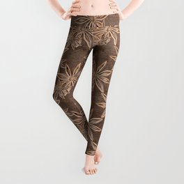 Star Anise Spice Leggings