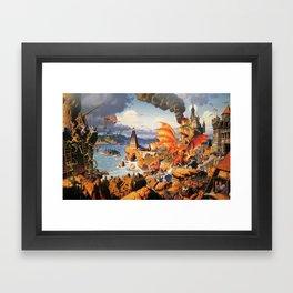Ultima Online poster Framed Art Print