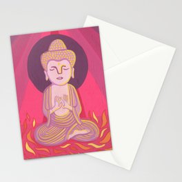 Buddha H Stationery Cards