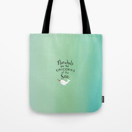 Wendell the Narwhal Tote Bag