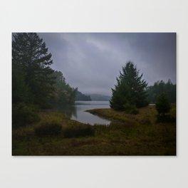lake lagunitas, late afternoon Canvas Print