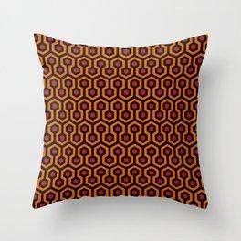 Overlook Stanley Carpet Hotel Pattern Throw Pillow