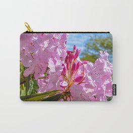The Lost Gardens of Heligan - Pink Rhododendron Carry-All Pouch
