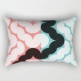 CONNECTED #1 Rectangular Pillow