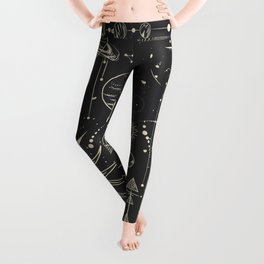 Space patterns Leggings