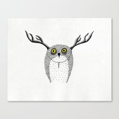 Forest Fancy Dress Canvas Print