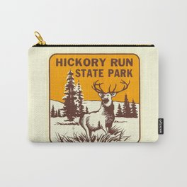 Hickory Run Camping Buck Deer PA Park Carry-All Pouch