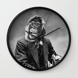 MonkeyMan Wall Clock