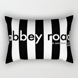 Abbey Road, St Johns Wood, London, NW8, Travel Poster Rectangular Pillow