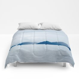Mountains in the Mist Comforters