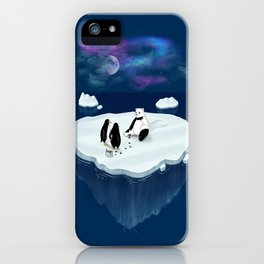 Drunken Polar Night iPhone Case