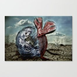 Save our World 13  Canvas Print