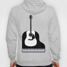 Piano and Guitar Hoody