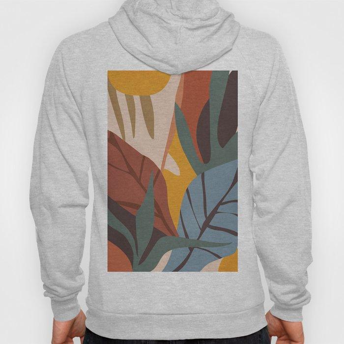 Abstract Art Jungle Hoody