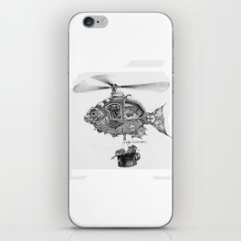 Weebits Flying Fish Excursion iPhone Skin