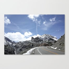 Road to Tioga Pass Canvas Print