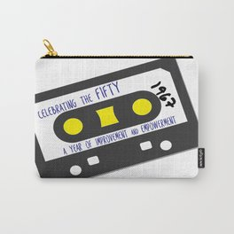 CELEBRATE THE 50 - CASSETTE Carry-All Pouch