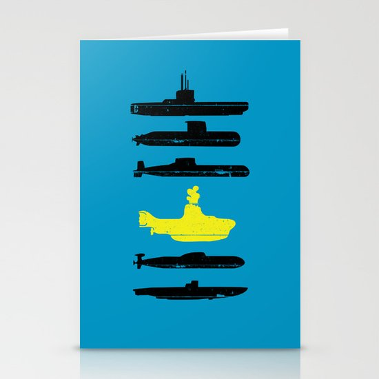 Know Your Submarines V2 Stationery Cards