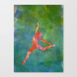 Gymnast 1 Canvas Print