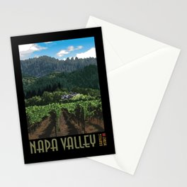 Napa Valley - Far Niente Winery - Oakville District Stationery Cards