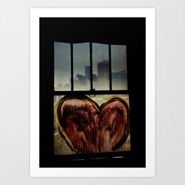 Detroit Love Art Print
