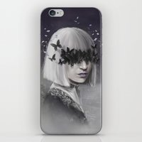 sia iPhone & iPod Skins featuring 100 Forms of Fear / Sia by Nicolas Jamonneau