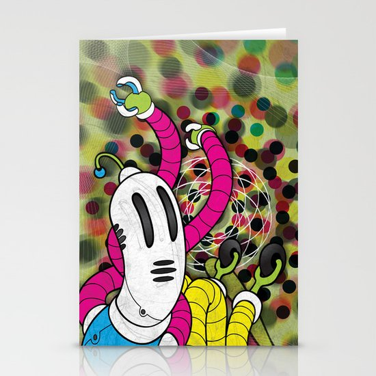 CMYK (Mysterious printer goblin) Stationery Cards