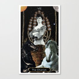 7. The Chariot Canvas Print