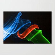 Smoking Colors Canvas Print