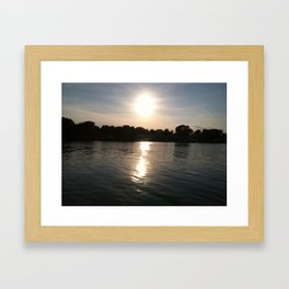 Chesapeake Bay Beach Framed Art Print