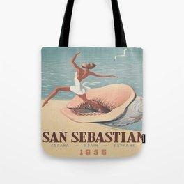 Vintage poster - San Sebastian Tote Bag