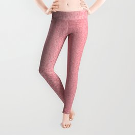 Simply Metallic in Pink Rose Gold Leggings