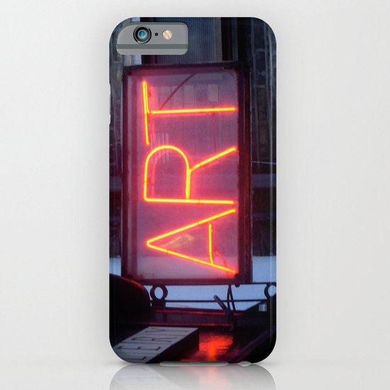 Neon Art iPhone & iPod Case