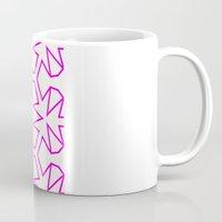 Van Zwaben Pink Neon Pattern Coffee Mug