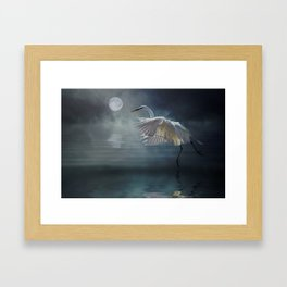 Moonlight Rhapsody Framed Art Print