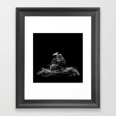 Lettuce root Framed Art Print