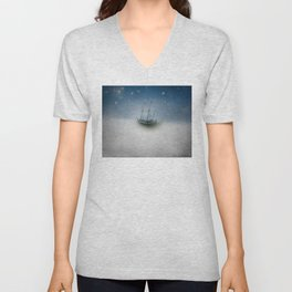 Charting the Clouds Unisex V-Neck