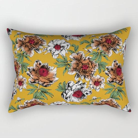 Beautiful Garden III Rectangular Pillow