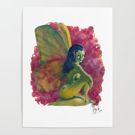The Green Fairy  Poster