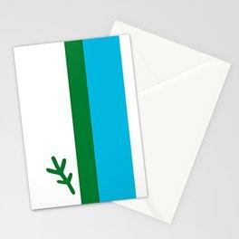 Labrador Flag  Stationery Cards
