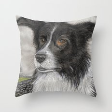 The Sheepdog Throw Pillow