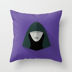 The Emperor Minimalist Poster Throw Pillow