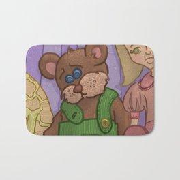 Corduroy: The Buttonless Bear Bath Mat
