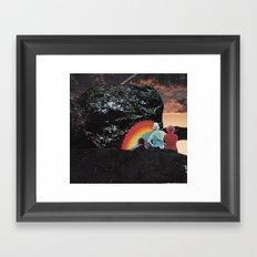Rock of Love Framed Art Print