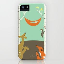 Woodland Baby iPhone Case