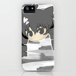 Neko mimi series KURO iPhone Case
