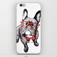 dog iPhone & iPod Skins featuring Happy Dog by 13 Styx