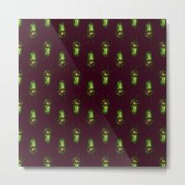 Rainbow Stag Beetles Metal Print