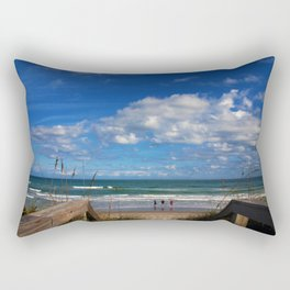Cocoa Beach in Florida Rectangular Pillow