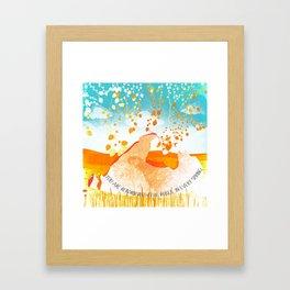 Spring 8 Framed Art Print
